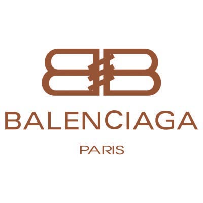Design balenciaga logo Water Transfer Temporary Tattoo(fake Tattoo) Stickers No.100005