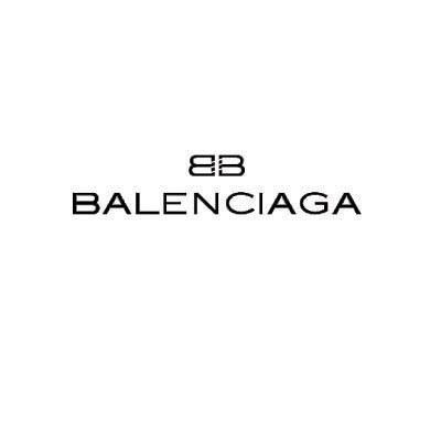 Design balenciaga logo Water Transfer Temporary Tattoo(fake Tattoo) Stickers No.100007
