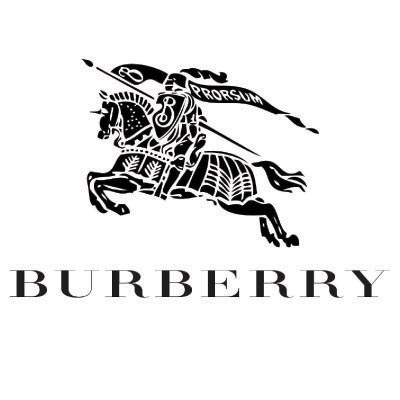 Design burberry logo Water Transfer Temporary Tattoo(fake Tattoo) Stickers No.100012