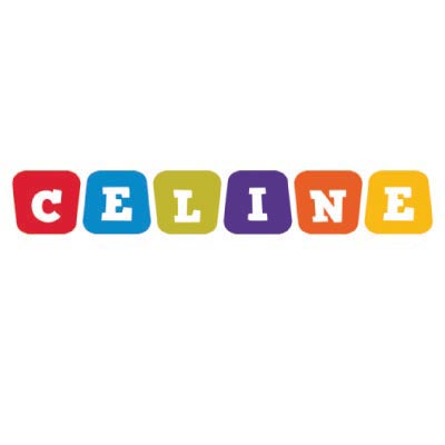 Design celine logo Water Transfer Temporary Tattoo(fake Tattoo) Stickers No.100017