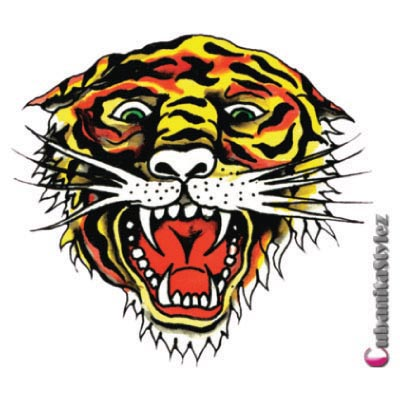 Design ed hardy logo Water Transfer Temporary Tattoo(fake Tattoo) Stickers No.100039