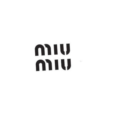 Design miu miu logo Water Transfer Temporary Tattoo(fake Tattoo) Stickers No.100086