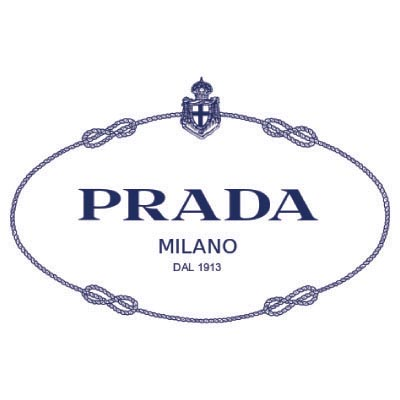Design prada logo Water Transfer Temporary Tattoo(fake Tattoo) Stickers No.100096
