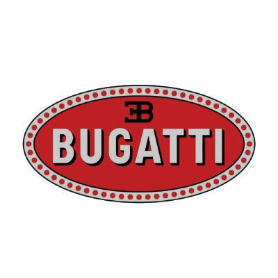 Design bugatti logo Water Transfer Temporary Tattoo(fake Tattoo) Stickers No.100128