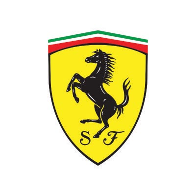 Design ferrari logo Water Transfer Temporary Tattoo(fake Tattoo) Stickers No.100160
