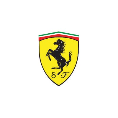 Design ferrari logo Water Transfer Temporary Tattoo(fake Tattoo) Stickers No.100164