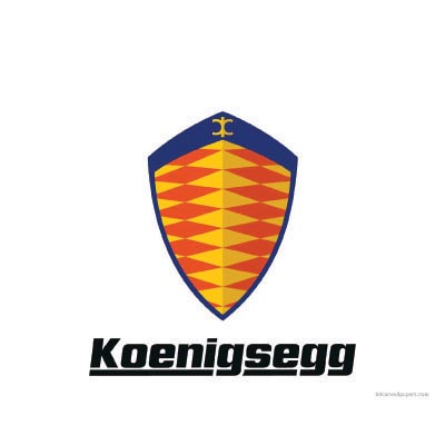 Design koenigsegg logo Water Transfer Temporary Tattoo(fake Tattoo) Stickers No.100189