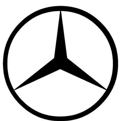 Design mercedes-benz logo Water Transfer Temporary Tattoo(fake Tattoo) Stickers No.100226