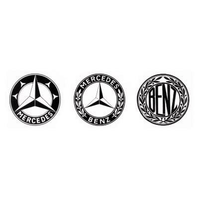 Design mercedes-benz logo Water Transfer Temporary Tattoo(fake Tattoo) Stickers No.100229