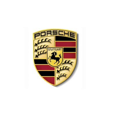 Design porsche logo Water Transfer Temporary Tattoo(fake Tattoo) Stickers No.100249