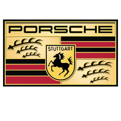 Design porsche logo Water Transfer Temporary Tattoo(fake Tattoo) Stickers No.100252