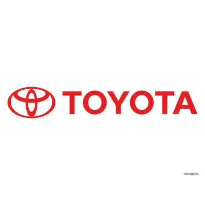 Design toyota logo Water Transfer Temporary Tattoo(fake Tattoo) Stickers No.100297