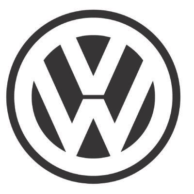 Design volkswagen logo Fake Temporary Water Transfer Tattoo Stickers No.100301
