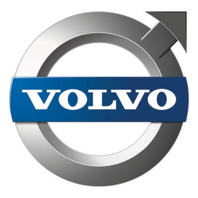 Design volvo logo Fake Temporary Water Transfer Tattoo Stickers No.100306