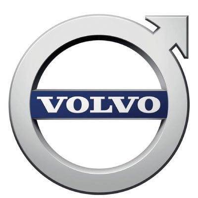 Design volvo logo Fake Temporary Water Transfer Tattoo Stickers No.100308