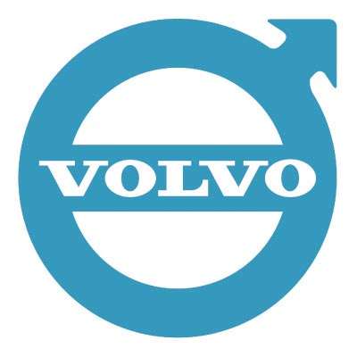 Design volvo logo Fake Temporary Water Transfer Tattoo Stickers No.100309
