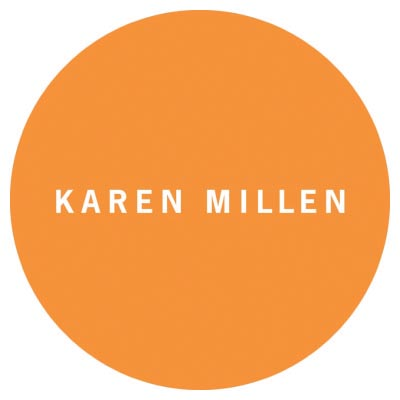 Design karen millen logo Fake Temporary Water Transfer Tattoo Stickers No.100357