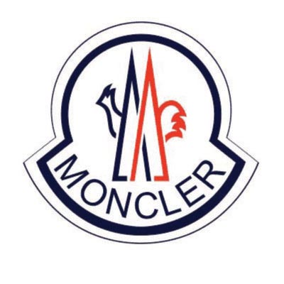 Design moncler logo Fake Temporary Water Transfer Tattoo Stickers No.100373