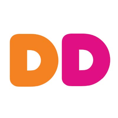 Design dunkin donuts logo Fake Temporary Water Transfer Tattoo Stickers No.100421