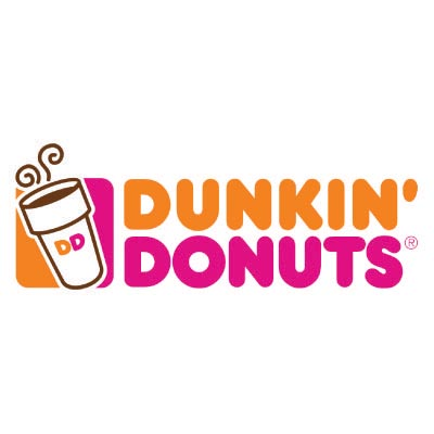 Design dunkin donuts logo Fake Temporary Water Transfer Tattoo Stickers No.100422