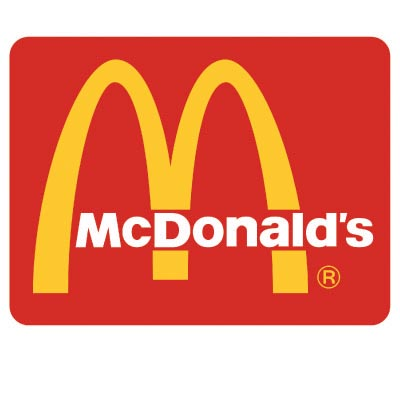 Design mcdonalds logo Fake Temporary Water Transfer Tattoo Stickers No.100424
