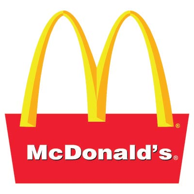 Design mcdonalds logo Fake Temporary Water Transfer Tattoo Stickers No.100425