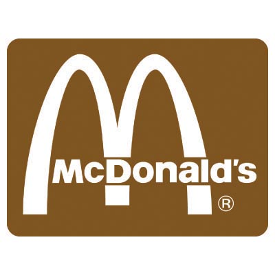 Design mcdonalds logo Fake Temporary Water Transfer Tattoo Stickers No.100429