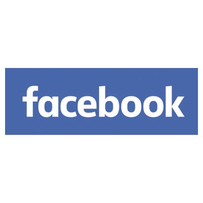 Design facebook logo Fake Temporary Water Transfer Tattoo Stickers No.100502