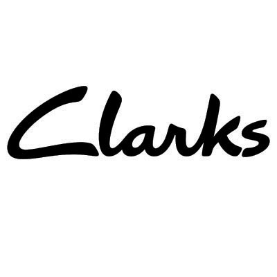 Design clarks logo Fake Temporary Water Transfer Tattoo Stickers No.100552