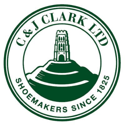 Design clarks logo Fake Temporary Water Transfer Tattoo Stickers No.100554