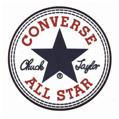 Design converse logo Fake Temporary Water Transfer Tattoo Stickers No.100559