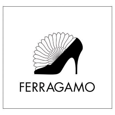 Design ferragamo logo Fake Temporary Water Transfer Tattoo Stickers No.100566