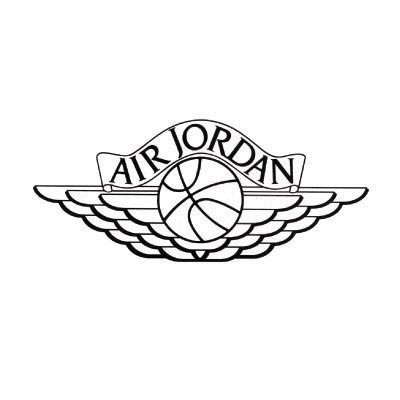 Design jordan logo Fake Temporary Water Transfer Tattoo Stickers No.100582