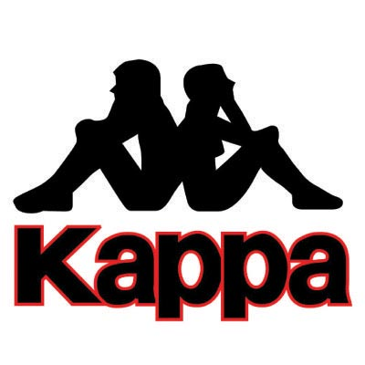 Design kappa logo Fake Temporary Water Transfer Tattoo Stickers No.100587