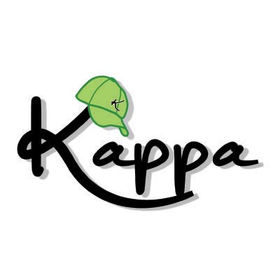 Design kappa logo Fake Temporary Water Transfer Tattoo Stickers No.100590