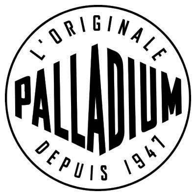 Design palladium logo Fake Temporary Water Transfer Tattoo Stickers No.100617