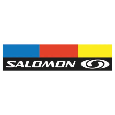 Design salomon logo Fake Temporary Water Transfer Tattoo Stickers No.100631