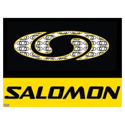 Design salomon logo Fake Temporary Water Transfer Tattoo Stickers No.100632
