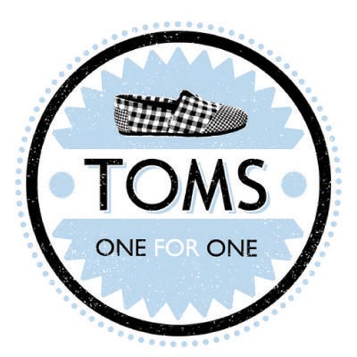 Design toms logo Fake Temporary Water Transfer Tattoo Stickers No.100650