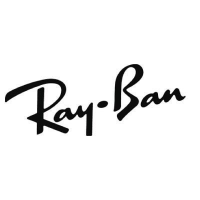 Design rayban logo Fake Temporary Water Transfer Tattoo Stickers No.100668