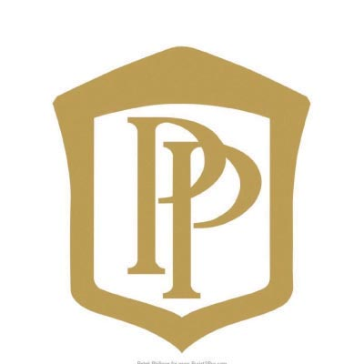 Design patek philippe logo Fake Temporary Water Transfer Tattoo Stickers No.100693