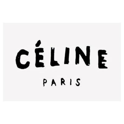 Design celine logo Water Transfer Temporary Tattoo(fake Tattoo) Stickers No.100015