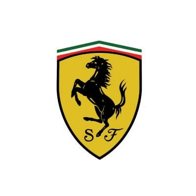 Design ferrari logo Water Transfer Temporary Tattoo(fake Tattoo) Stickers No.100163