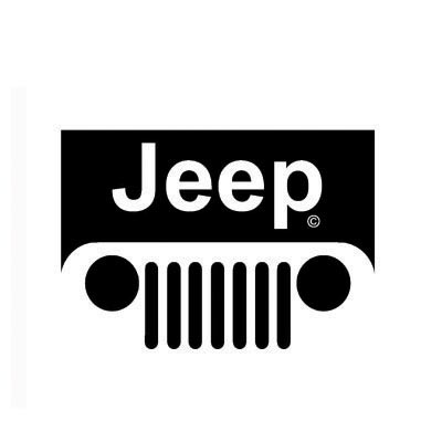 Design jeep logo Water Transfer Temporary Tattoo(fake Tattoo) Stickers No.100184