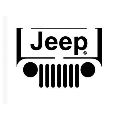 Design jeep logo Water Transfer Temporary Tattoo(fake Tattoo) Stickers No.100186