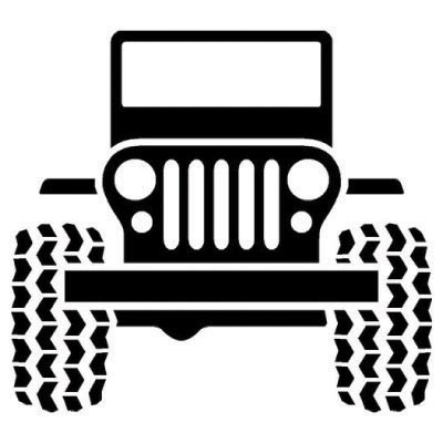 Design jeep logo Water Transfer Temporary Tattoo(fake Tattoo) Stickers No.100187