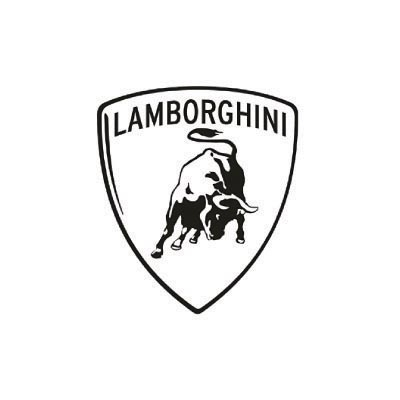 Design lamborghini logo Water Transfer Temporary Tattoo(fake Tattoo) Stickers No.100195