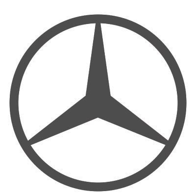 Design mercedes-benz logo Water Transfer Temporary Tattoo(fake Tattoo) Stickers No.100222