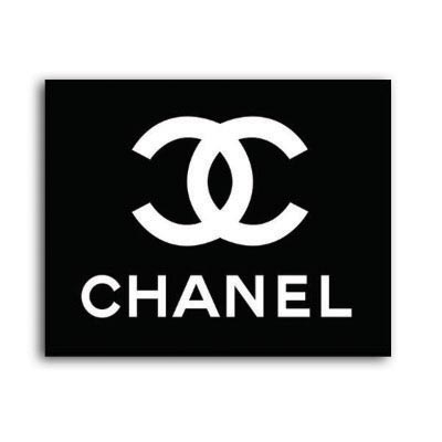 Design chanel logo Water Transfer Temporary Tattoo(fake Tattoo) Stickers No.100024
