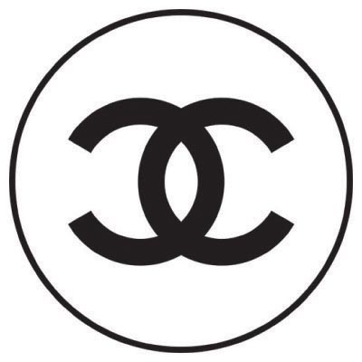 Design chanel logo Water Transfer Temporary Tattoo(fake Tattoo) Stickers No.100027